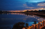 Rekindling my love affair with night photography with this very long bridge in Iloilo City